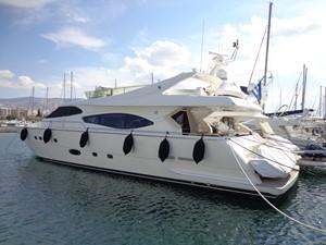 FERRETTI 760 0 FERRETTI 760 2002 FERRETTI YACHTS  Motor Yacht Yacht MLS #234378 0
