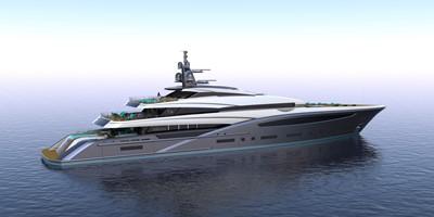 Custom Yacht 75M Hull #1 2020