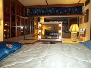 Master cabin vanity