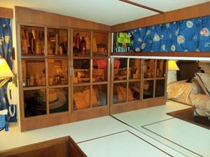 Master cabin storage