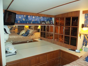 Master cabin to starboard