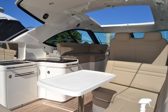 PARADOCS 11 Aft Settee Looking Forward from Starboard side aft