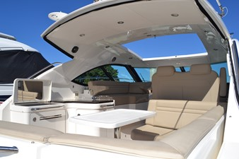 PARADOCS 12 Fully Enclose Hardtop with Sunroof View from Cockpit