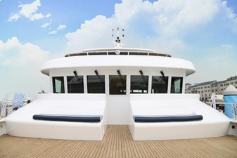 Samsara 100' custom Boat Deck  Seating
