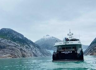 SAMSARA  48 Samsara Aft in Glacier Bay Alaska