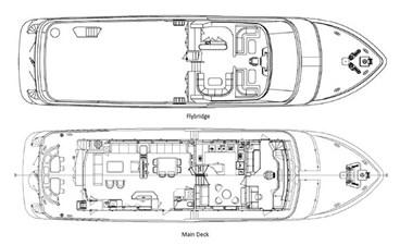 SAMSARA  55 Samsara Overing Explorer Yacht -layout