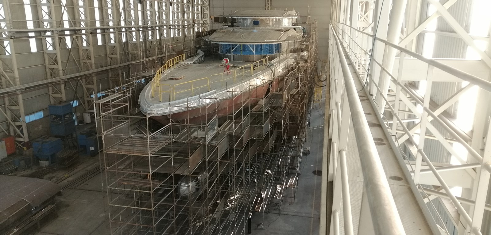 Under construction March 2020