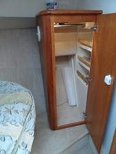 Forward Cabin Clothes Closet one on each sides