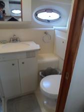 Aft Washroom Vanity & Toilet