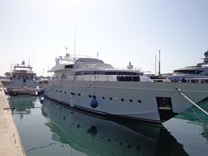 AKHIR 31 1 AKHIR 31 1984 CANTIERI DI PISA  Motor Yacht Yacht MLS #237881 1