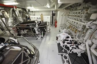 KIMBERLIE 48 Engine Room