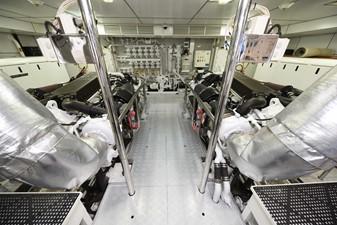 KIMBERLIE 50 Engine Room
