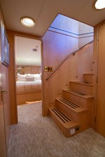 Stariway to Master Stateroom