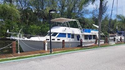 Val Hal 1 Val Hal 1973 HOLIDAY MARINE Monk Trawler Yacht Yacht MLS #240101 1