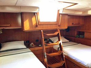 Aft Master Stateroom with Access to Aft Cockpit