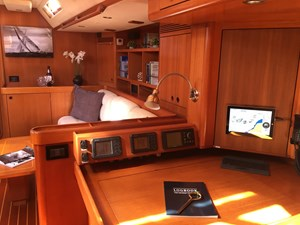 Nav Station, Main Saloon, Stbd. Side Aft