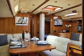 Saloon, Port Side Dining Area
