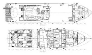 Layout, Main and Lower Decks