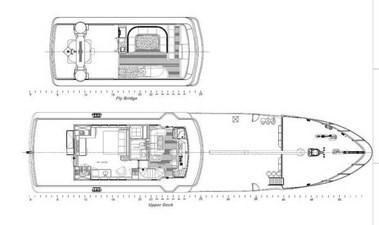 Layout, Flybridge and Upper Deck