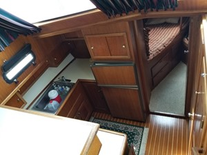 12 Galley from above