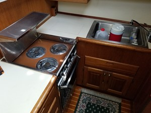 13 Galley looking to Port