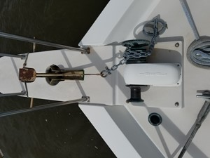 22 Bow Pulpit Ideal Windlass