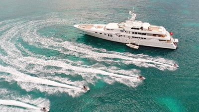 8 Apogee 63m codecasa charter superyacht jetskis