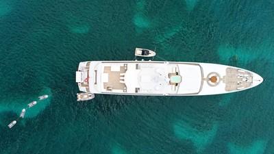 5 Apogee 63m codecasa charter superyacht aerial