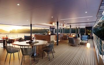 SeaXplorer 60 21 Damen Yachting SeaXplorer 60 Main Deck Aft cabana bar 2