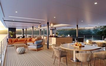SeaXplorer 60 22 Damen Yachting SeaXplorer 60 Main Deck Aft cabana bar