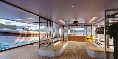 SeaXplorer 60 23 Damen Yachting SeaXplorer 60 Main Deck Aft dive deck