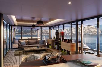 SeaXplorer 60 26 Damen Yachting SeaXplorer 60 Main Deck Aft ski lodge