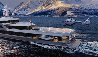 SeaXplorer 60 37 Damen Yachting SeaXplorer 60 polar heli