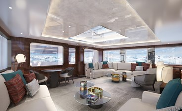 SeaXplorer 60 28 Damen Yachting SeaXplorer 60 polar observation lounge