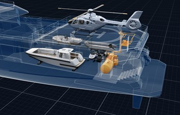 SeaXplorer 60 43 Damen Yachting SeaXplorer 60 technical heli ops