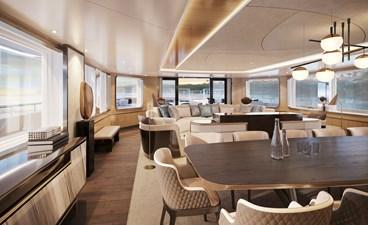 SeaXplorer 60 34 Damen Yachting SeaXplorer 60 tropics lounge by H2 Design