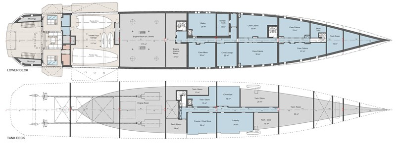 86M Project STARLIGHT yacht for sale