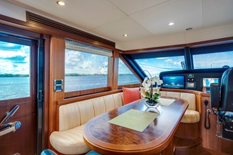 Dinette Seating in Galley