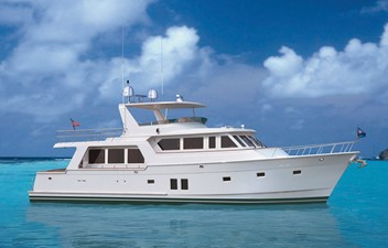 NEW BUILD 64 VOYAGER 1 NEW BUILD 64 VOYAGER 2020 OFFSHORE YACHTS Pilothouse Voyager Motor Yacht Yacht MLS #243523 1