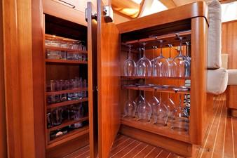 Glasses storage