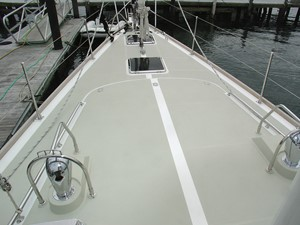 Foredeck, Looking Fwd.