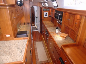Galley, Looking Aft