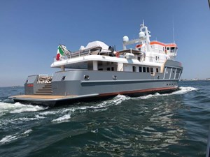 Ocean King 130 23 Starboard Quarter