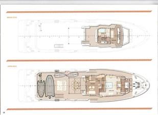 Ocean King 130 26 GA Bridge and Upper Deck