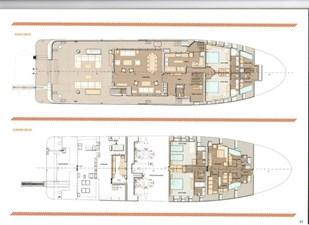 Ocean King 130 27 GA Main and Lower Decks