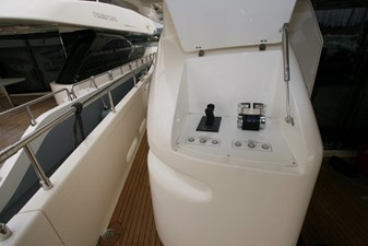 FIFTEEN 5 3rd engine control - bow stern thruster control
