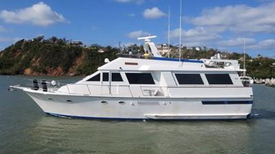 1989 63' Viking motor yacht profile