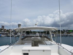 1989 63' Viking motor yacht Flybridge