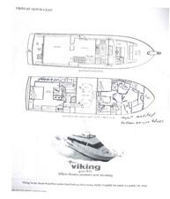1989 63' Viking motor yacht Lower Deck