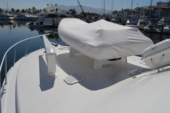 Bow Deck with Marquipt Davit & Tender